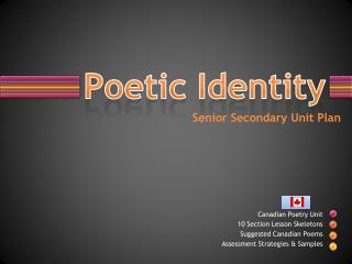 Poetic Identity