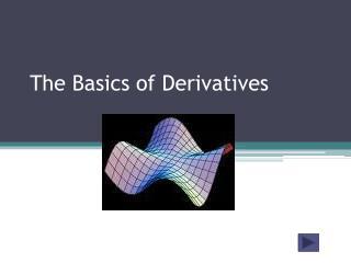 The Basics of Derivatives