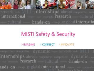 MISTI Safety & Security