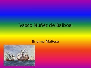 V asco Núñez de Balboa