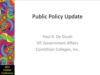 Public Policy Update