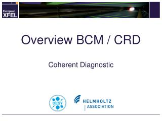 Overview BCM / CRD