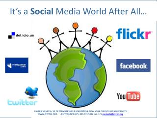 It�s a  Social  Media World After All�