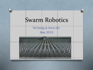 Swarm Robotics