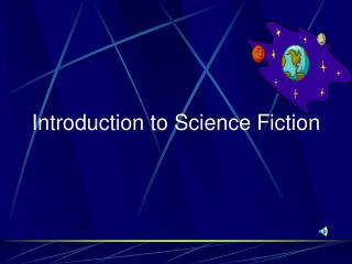 Introduction to Science Fiction