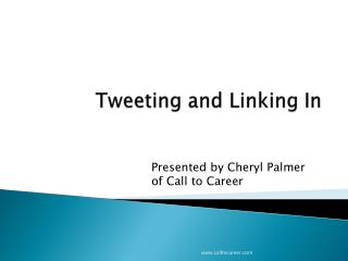 Tweeting and Linking In