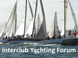 Interclub Yachting Forum