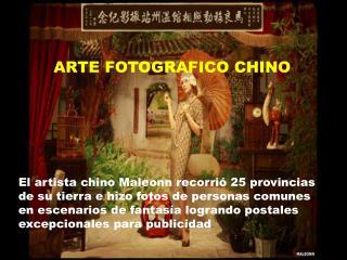 ARTE FOTOGRAFICO CHINO