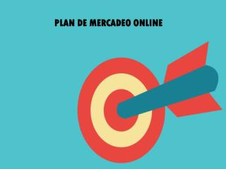 PLAN DE MERCADEO ONLINE