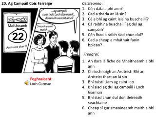 20. Ag Campáil Cois Farraige