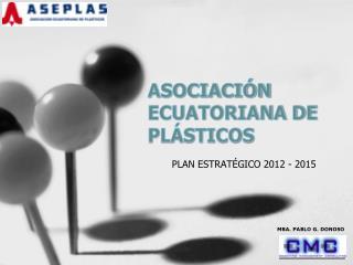 ASOCIACIÓN ECUATORIANA DE PLÁSTICOS
