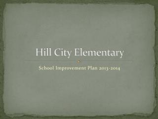 Hill City Elementary