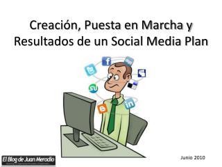 Creación, Puesta en Marcha y Resultados de un Social Media Plan