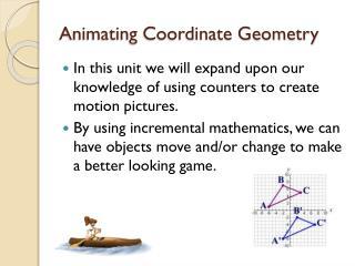Animating Coordinate Geometry