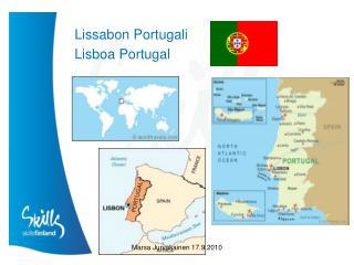 Lissabon Portugali Lisboa  Portugal