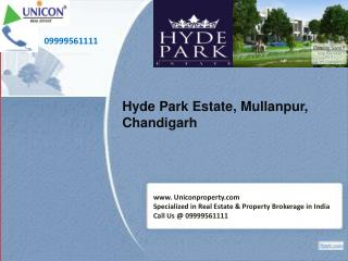 DLF Hyde Park Estate Chandigarh | 09999561111 | DLF Group
