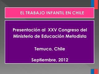 EL TRABAJO INFANTIL EN CHILE