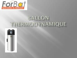 BALLON Thermodynamique