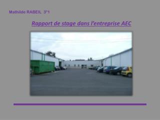 Mathilde RABEIL  3°1