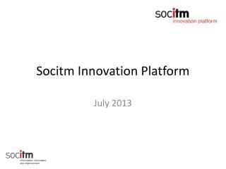 Socitm Innovation Platform
