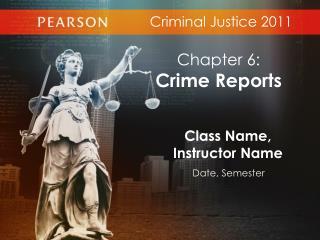 Criminal Justice 2011