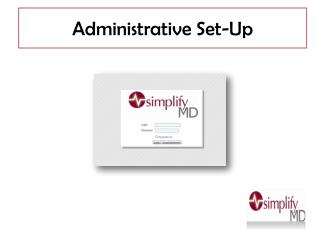 Administrative Set-Up
