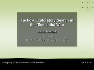 What is Exploratory search?