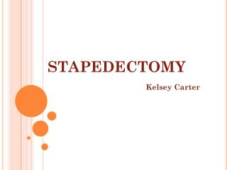 stapedectomy
