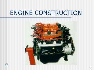 ENGINE CONSTRUCTION