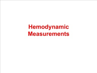 Hemodynamic Measurements