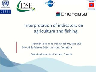 Interpretation of indicators on agriculture and fishing