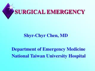 SURGICAL EMERGENCY