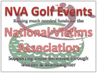 NVA Golf Events