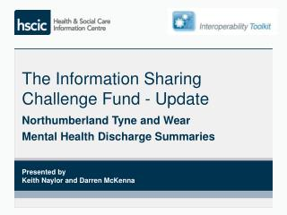 The Information Sharing Challenge Fund - Update