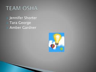 TEAM OSHA
