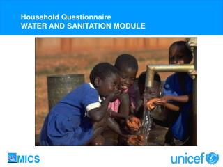 Water and Sanitation - Childinfo