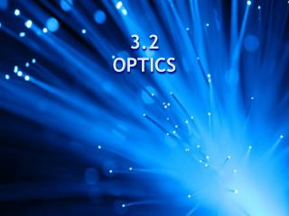 3.2 OPTICS