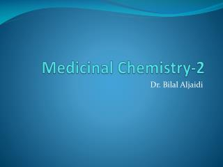 Medicinal Chemistry-2