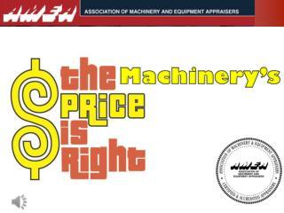Machinery's