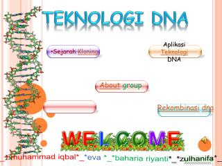 TEKNOLOGI DNA
