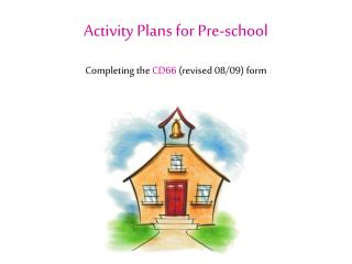 Activity Plans for Pre-school