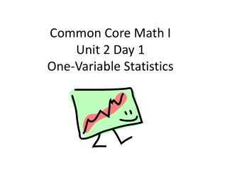 Common Core Math I Unit 2 Day 1 One-Variable Statistics