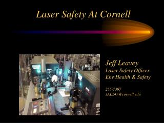 Laser Safety At Cornell
