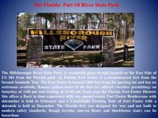The Florida State park-  Virtual Vacation -2012