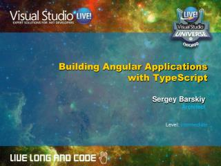 Building Angular Applications with TypeScript