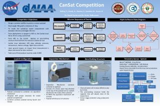 CanSat  Competition Belhaj , Y., Grant, A.,  Rustan , S ., Sandler, M.,  Guerr , A.