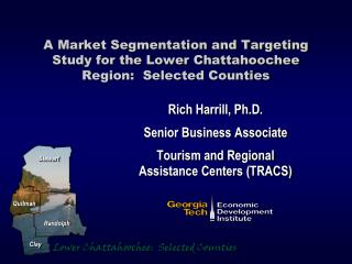 A Market Segmentation and Targeting Study for the Lower Chattahoochee Region:  Selected Counties