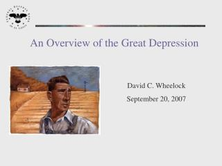 An Overview of the Great Depression