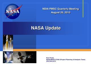NASA Update