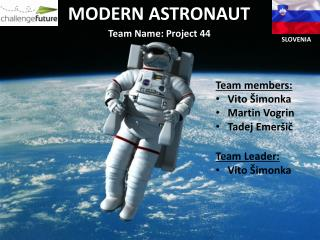 Team Name:  P roject 44